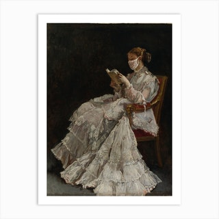 La Liseuse The Reader Art Print