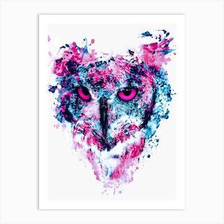 Owl 4 Art Print