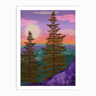 Mystic Woods Art Print