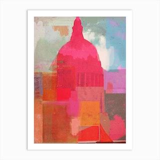 St Pauls 2014 Art Print