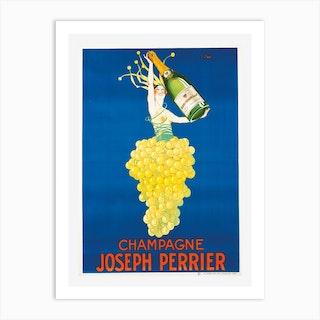 Joseph Perrier Champagne Art Print