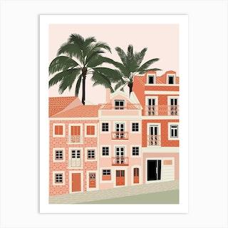 Lisbon Print  Art Print
