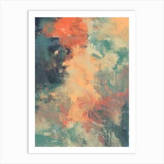 Autumn Colours Abstract 1 Art Print