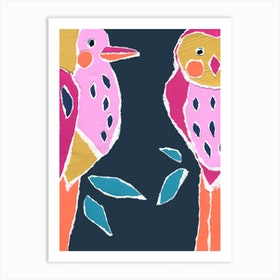 Large Birds Art Print
