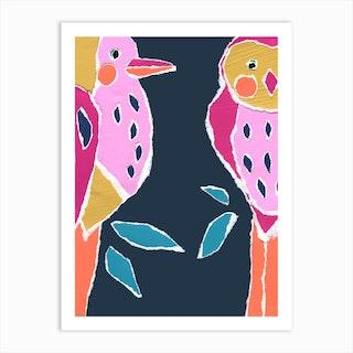 Large Birds Art Print