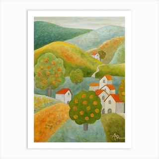A Place To Stay Art Print