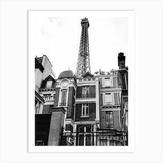 Noir Paris VII Art Print