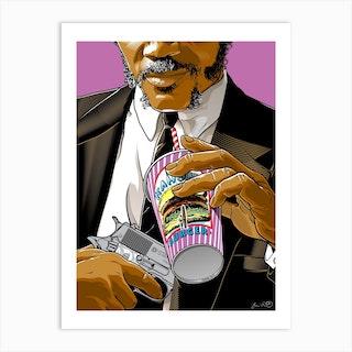 Jules Winnfield Pulp Fiction Art Print