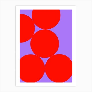 Just Dots Art Print