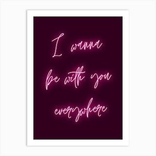 Fleetwood Mac Lyrics Art Print