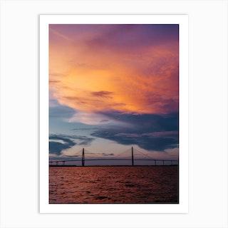 Charleston Sunset XII Art Print