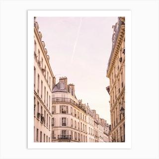 Paris Buildings X Art Print