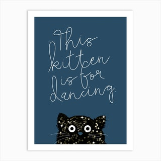 Cat Kitten Art Print