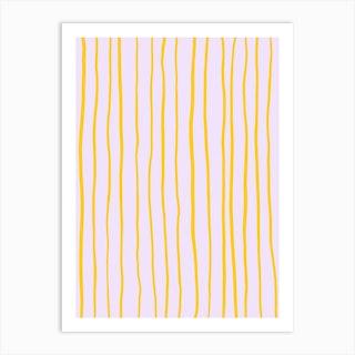 Striped Art Print