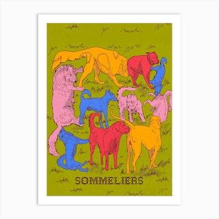 Sommeliers Art Print