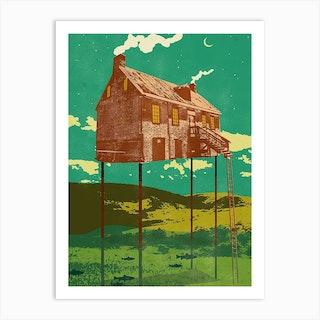 River House Art Print