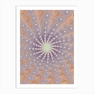 Fractal Mandala Art Print