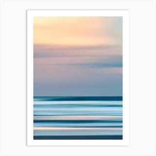 Ocean Flux Art Print