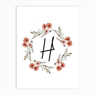 Wild Flower H Art Print