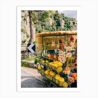 Amalfi Coast Drive XV Art Print