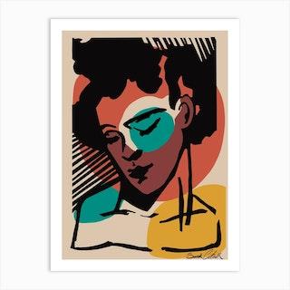 Splotchy Art Print