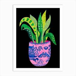 Wilow Pattern Plant Art Print