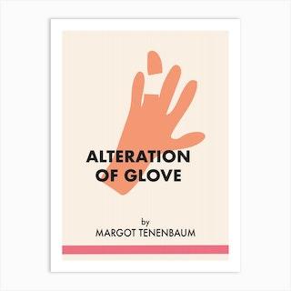 Margot Tenembaum Glove Art Print