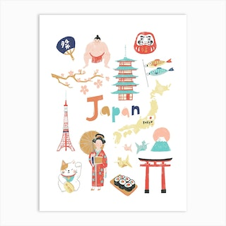 Travel Japan Art Print