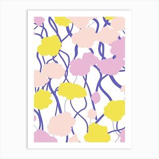 Poppies At Springtime Art Print