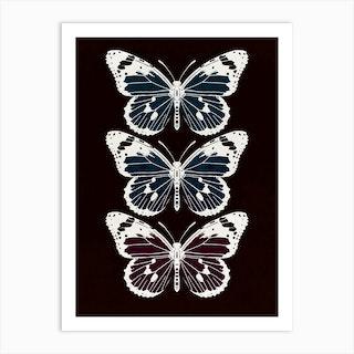 Butterflies 2 Art Print