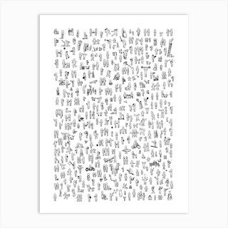 Just People Original Art Print