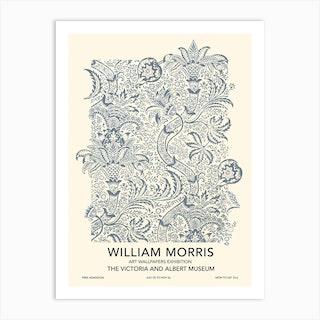 Indian Exhibition Poster, William Morris Art Print