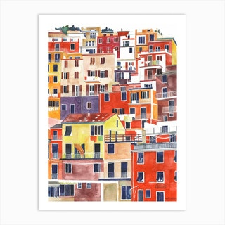 Cinqueterre Art Print