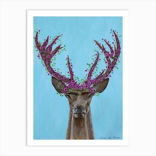 Frida Kahlo Deer Art Print