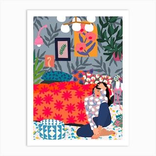 Enjoy Your Bedroom Art Print