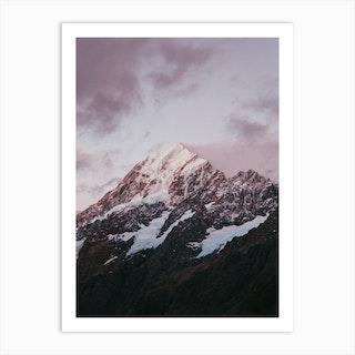 Mt Cook Ii Art Print