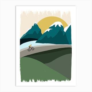 Mountain Ride Art Print