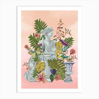 Hidden Garden Art Print
