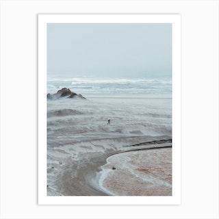 Minimalist Beach Art Print