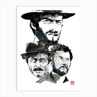 The Good The Evil And The Ugly Art Print
