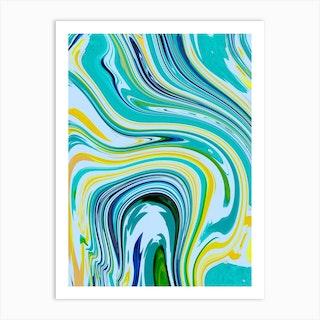 Bright Clouds Art Print
