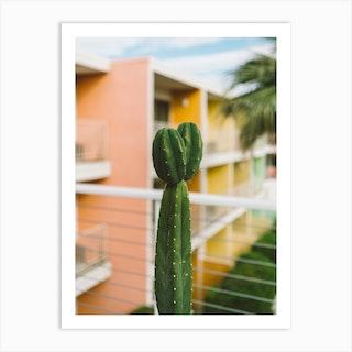 Palm Springs Cactus Art Print