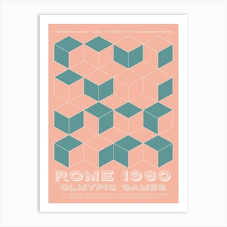 Rome 1960 Olympic Art Print