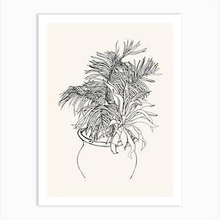 Goan Garden Art Print