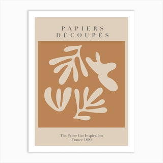 Papiers Decoupes   Neutrals   Musem Of Modern Art Art Print