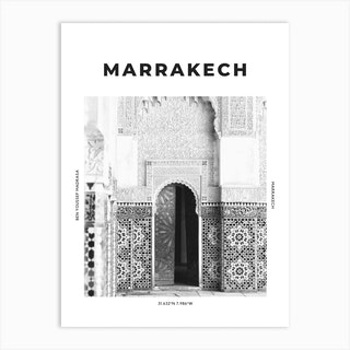 Marrakech Art Print
