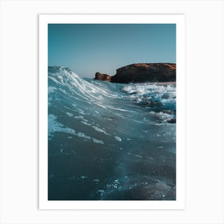Surf Vibes Art Print