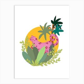 Pink Panther Art Print