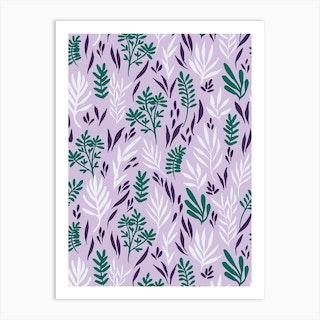 Lilac Waters Art Print
