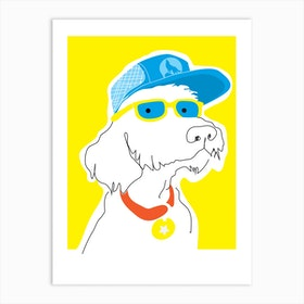 Top Dog Art Print